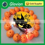 Geek pumpkin light led light lantern,LED pumpkin Lantern,pumpkin halloween lantern