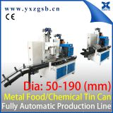 Auto Small Chemical Can Packaging Making Machinery Production Line for 0.25-5L Tin Can