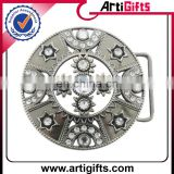 Newest fashion rhinestone fancy belt buckle