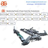 Commercial French Fries Production Line|Hot Selling French Fries Making Line|Frozen French Fries Making Machine