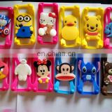 hot sell universal Cartoon Silicone bumper case frame phone case compatible with all phones for 2016 new products