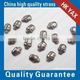 china hotfix Metal convex stud manufcturer;hot sale skull shape convex stud Metal hotfix ;Metal hotfix convex stud