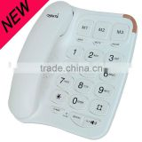Old people big button telephone,big button design phone                                                                         Quality Choice