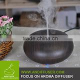 Ultrasonic Ion Humidifier Purifier Aroma Air Aromatherapy Essential Oil Diffuser Ionizer Dark Wood Grain Apple Version