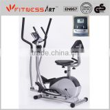 Cardio Fitness Stepper Bike EB8419F with the Function of Elliptical, Recumbent, Upright Bike