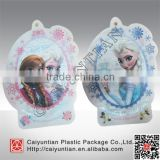 Custom printed free shape food pouches, Free design special shape flower tea package bag