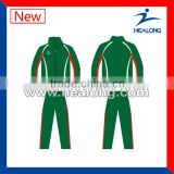 100%polyster wholesale OEM sports tracksuit