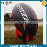 2015 Hot sale Advertising inflatable football/rugby ball,inflatable replicas model,inflatable tools for sport advertising