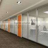 Hot Selling Double Glass Partition Wall Modern Interior Office Screen Dividers (SZ-WS580)