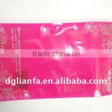 plastic packaging bag for cosmetic wedge