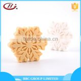 BBC Christmas Gift Sets Suit 002 OEM snowflake shape moisturizing refreshing handmade natural bath soap