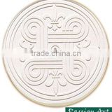Absorbent Decorative Blank Etched Ceramic Coaster