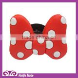 Wholesale red PVC shoe charms