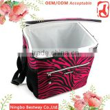 Cooler fitness lunch box cooler bag, Wholesale thermal insulated cooler bags, Zip cooler bag