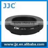 JJC black camera lens adapter ring for T mount lens