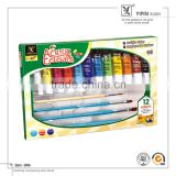 In Stock Hot Sell Delicate Multicolor 12 Color Art Acrylic Colour Paint                                                                         Quality Choice