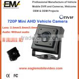 Mini 720P AHD Car Front View Camera For Inside Camera