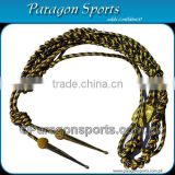 Military Uniform Aiguillette | Double Tip Gold Wire & Silk Uniform Aiguillette
