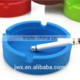 Custome round silicone ashtray fancy in design