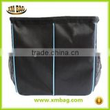 Car Garbage Can, Auto Trash Bags, Waterproof Liner Prevents Spills and Leaks, Metal Frame Holds it Open