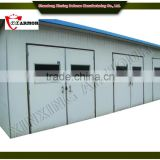 professional manufacturer supply panelized bullet proof guard house / bullet proof security aluminium panel door for house