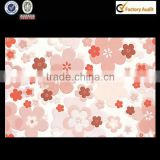 pink flower ceramic brick wall finish encaustic patterned tiles