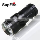 High power rechargeable CREE XML-T6 LED flashlight 2000 lumens