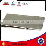 nickel for engravable oem logo money clip supplier