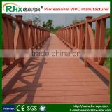 handrails for outdoor steps with high quality wood plastic composite decking