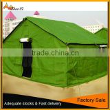 durable military disaster relief tents,outdoor waterproof canvas refugee tent