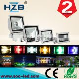 Modern Led Lighting 50W Led Flood Light RGB Chip Outdoor Waterproof Landscape Garden Wall Light
