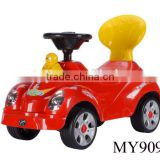 Cheap ride on car 4 wheels Sliding Swing ride on car for kid to drive plastic baby toy cars