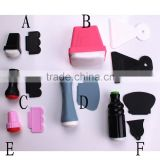 Pro New Style Nail Art Template Stamping Stamp Tools Scraping Knife Set nail stamper nail polish stamp
