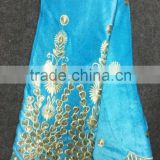 Wholesale Retail Nigeria African velvet ladies suits lace for women dresses