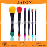 Two Ends Wooden Handle Make UP Brush Convenient Powder Brush