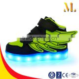 Flying shoes light up in the night for kids LED shoes