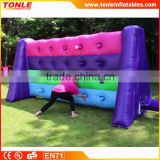 fun Whack A Wall Inflatable challenge/ inflatable wall challenge sport game for adult yean building