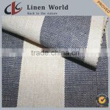 Linen Cotton Yarn Dyed Woven Sofa Fabric