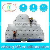 Big Floating Inflatable Climbing Iceberg Wall