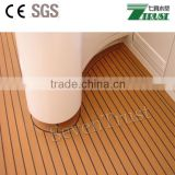 Synthetic teak pvc soft flooring for yacht,boat,pontoon Size:190X5MM