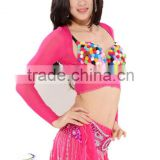 SWEGAl SGBDB13050 8color pink sexy charming green popular belly dance tops