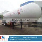 lpg gas semi trailer road tank, 3 axles lpg tanker trailer 20Tons