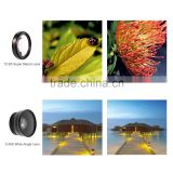 Macro Mobile Lens 0.45X Super Wide Angle Lenses 37mm Digital High Definition for iphone 6 5s xiaomi redmi note 3 pro 2 camera