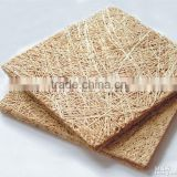 Wood fiber cement board wood house moisture resistance rock wool board insulation                                                                         Quality Choice