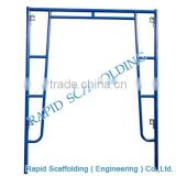 Walk through H Frame system powder coated scaffolding for building