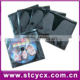 pp cd sleeve dvd organizer storage vcd bag plastic CD sleeve PP non-woven CD sleeve colorful