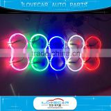 ALIECAR LED light-guide angel eyes 80mm 95mm halos for 2.5inch 3.0 inch projector lens shrouds
