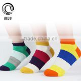 Fashion Casual Women Colorful Crew Socks Custom Design Socks Business Men Cotton Colored Ankle Socks
