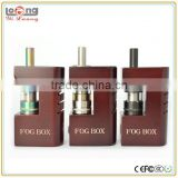 Yiloong box mod as chimera wooden dual 18650 box mod for hingwong mec wood e cig mod