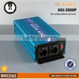 isolated diagram industrial frequency intelligent dc/ac power 24v 2000w pure sine wave inverter                                                                                                         Supplier's Choice